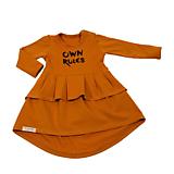 Šaty OwnRules cinnamon
