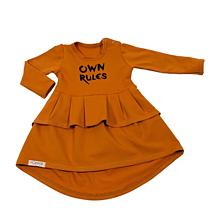 Detské oblečenie - Šaty OwnRules cinnamon - 10628258_