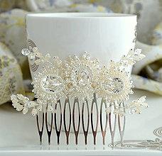 Ozdoby do vlasov - Amazing diamond Hrebienok - 10626710_