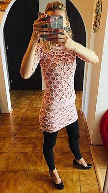 Šaty - Háčkované šaty - 10626248_