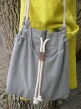Veľké tašky - Ľanová taška pre pohodu ;) - 10627138_