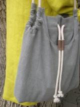 Veľké tašky - Ľanová taška pre pohodu ;) - 10627143_