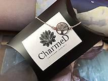 Náramky - Strieborný náramok Tree of Life / Tree of Life Bracelet - 10626489_