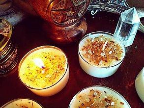 Svietidlá a sviečky - Bylinková sviečka - Palo Santo - 10627241_
