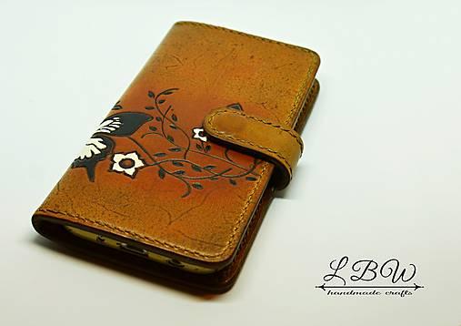 Kožené puzdro na smartfón