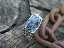 - Strieborný prsteň Ag925 Pieterzit Pánsky - 10627005_