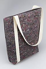 Veľké tašky - Eko taška cez plece ražná - 10627116_