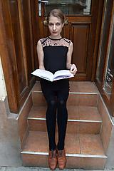 Šaty - Čierno ružové šaty - 10627446_