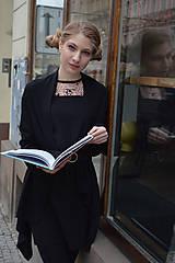 Šaty - Čierno ružové šaty - 10627447_