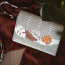 Kabelky - Drevená kabelka Tropic /farebná/ - 10626089_