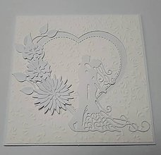 Papiernictvo - Svadobná pohľadnica - 10626685_