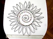 Dekorácie - Slnko pre pani učiteľku  (cca 45 cm) - 10627280_