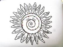 Dekorácie - Slnko pre pani učiteľku - 10627282_
