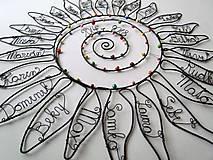 Dekorácie - Slnko pre pani učiteľku  (cca 45 cm) - 10627283_