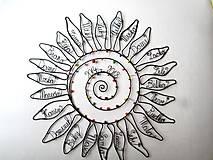 Dekorácie - Slnko pre pani učiteľku  (cca 45 cm) - 10627285_