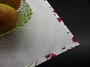 Úžitkový textil - Jarná sada tulipán (Prestieranie) - 10630909_
