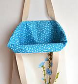 Nákupné tašky - Obojstranná taška - ručne maľovaná -Čakanka - 10629476_