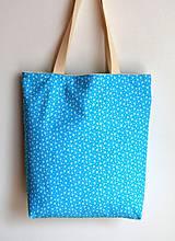 Nákupné tašky - Obojstranná taška - ručne maľovaná -Čakanka - 10629477_