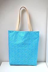 Nákupné tašky - Obojstranná taška - ručne maľovaná -Čakanka - 10629478_
