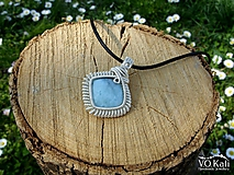 Lyanna - larimár, wire wrapping