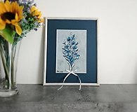 Dekorácie - Kitica kvetov - folklórny obrázok - 10628914_