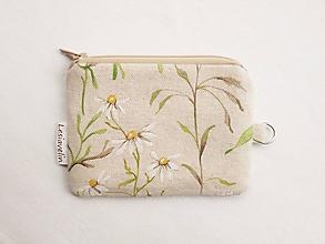 Peňaženky - Peňaženka/dokladovka - Kvety na lúke - 10631102_