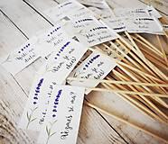 Darčeky pre svadobčanov - Vlajky - 10630740_