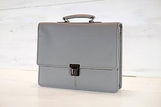 Veľké tašky - Pánska aktovka - Mikelo No.2 + peňaženka zadarmo - 10630575_