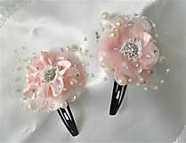 Iné doplnky - Saténové kvety - 10630117_