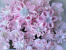 Iné doplnky - Saténové kvety - 10630118_