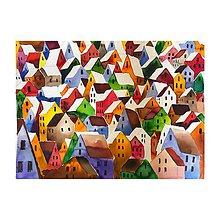 Obrazy - Farebne mesto - 10631400_