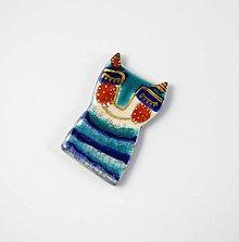 Odznaky/Brošne - Tana šperky - keramika/zlato - 10630243_