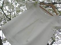 Tuniky - Ľanová blúzočka - 10629793_