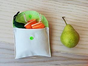 Nákupné tašky - Nákupná súprava vreciek na zeleninu - basic (Light Green) - 10631745_