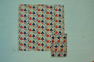 Úžitkový textil - Včelí ekoobal 33*33 cm (33*33 - Pestrofarebná) - 10629067_