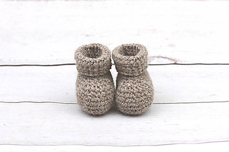 Topánočky - Hnedé papučky EXCLUSIVE FINE - 10629941_