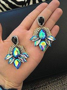 Náušnice - Náušnice - Blue treasures - 10628941_