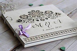 Papiernictvo - Personalizovaná kniha hostí - 10630673_