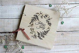 Papiernictvo - Personalizovaná kniha hostí - 10630760_