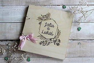 Papiernictvo - Personalizovaná kniha hostí - 10630797_