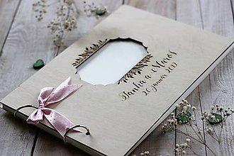 Papiernictvo - Personalizovaný svadobný fotoalbum - 10630875_