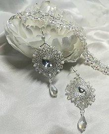 Sady šperkov - Náušnice s náramkom - 10631610_