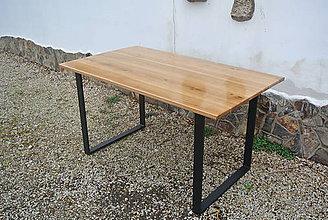 Nábytok - Jedálenský dubový stôl - 10630479_
