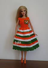 Hračky - Háčkované šatičky pre Barbie - 10631215_