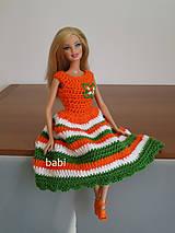 Hračky - Háčkované šatičky pre Barbie - 10631216_