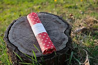 Úžitkový textil - Voskovaný obrúsok Voskáč 33x33 cm (zaláskanec) - 10631971_