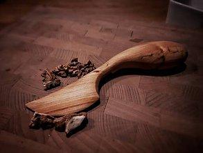Pomôcky - Drevený nôž na nátierky - 10631608_