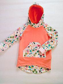 Detské oblečenie - Veselá dievčenská mikina - 10628947_