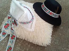 Iné doplnky - Ľudoví čepiec a klobúk - 10631902_