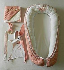 "Textil - Velký set do pôrodnice ""vyšívané hniezdo"" - 10633781_"